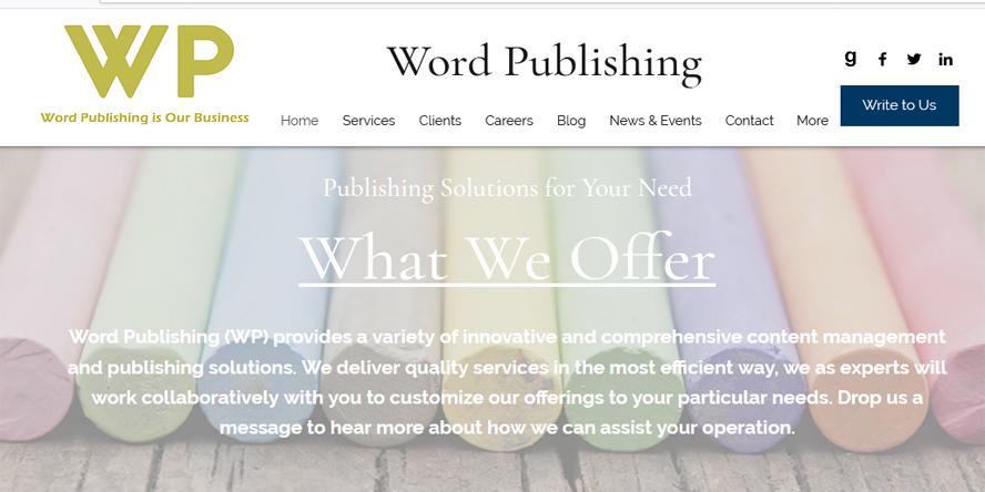 Word Publishing General Partnership, Delhi
